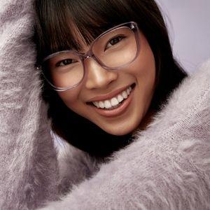 Bonlook Japonisme Lavander frame glasses